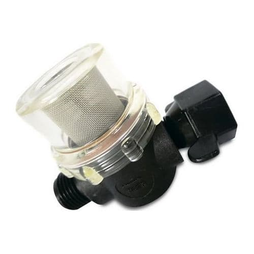 "Inline Filter 1/2"" Male to 1/2"" Swivel End"