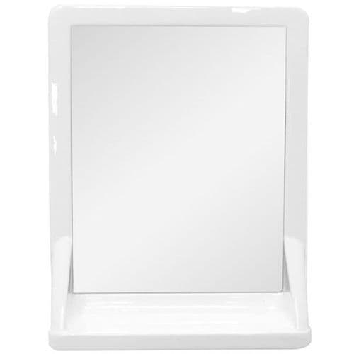MIRROR SHELF WHITE