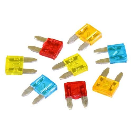 Mixed Mini Blade Fuses