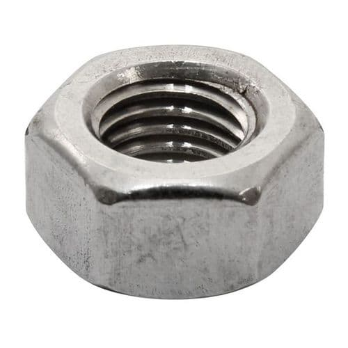 """Nut 5/16""""-24 Stainless"""