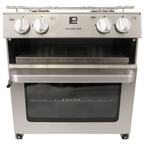 Voyager 4500 Deluxe Cooker Stainless Steel