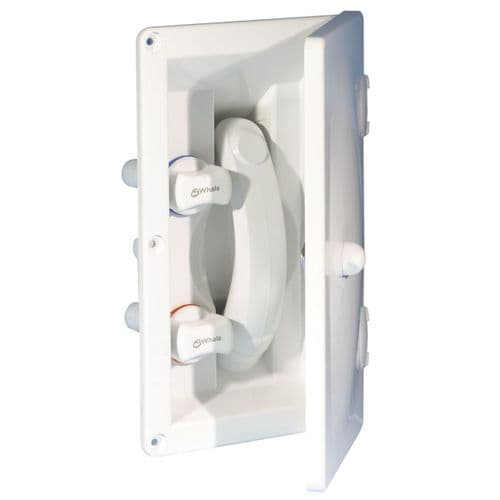 Whale Elegance Exterior Shower with Lockable Cover Included