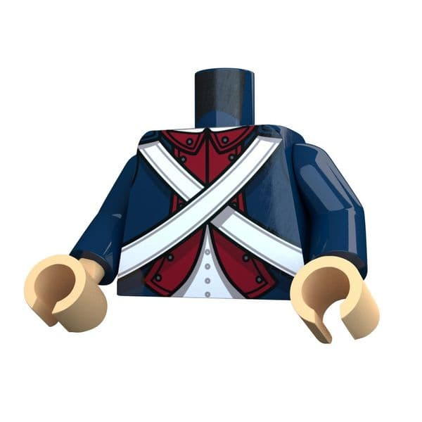 American Revolutionary War Continental Torso