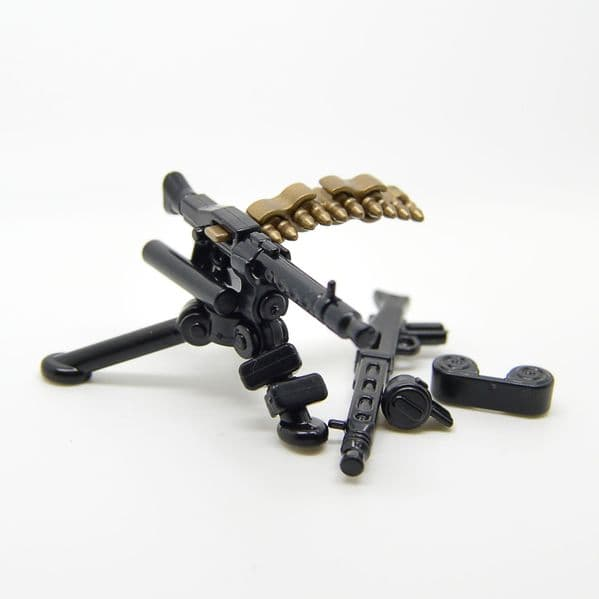 German Tripod with MG34+42 | Brickarms | United Bricks