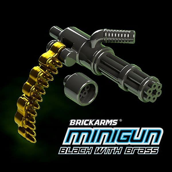Brickarms Minigun with Ammo Chain