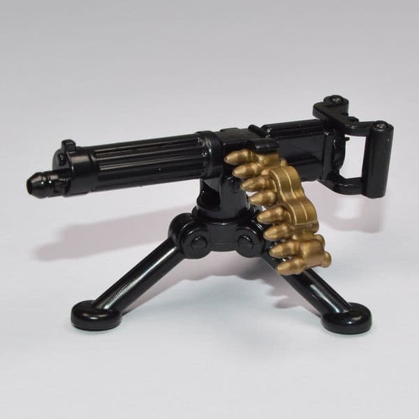Brickarms Vickers MG W/Ammo & Tripod