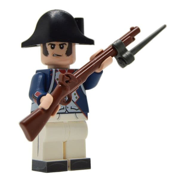 Napoleonic French Fusilier (1799-1807) | LEGO Minifigure | United Bricks