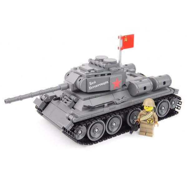 T-34-85 | Building Kit | United Bricks