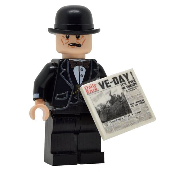 Winston Churchill | LEGO Minifigure