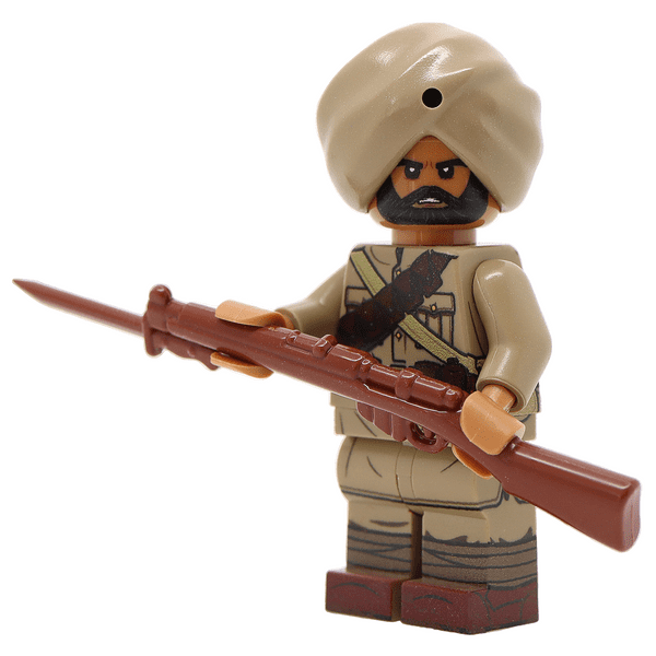 WW1 Indian Army Soldier