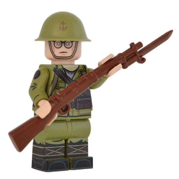 WW2 Japanese Army Soldier | United Bricks | LEGO Minifigure