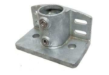 Base Flange with Kick Plate Clamp Fitting - 247