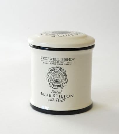 Potted Blue Stilton with Port