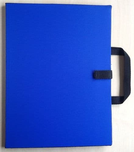 A3 Communication / Choice Folder - Royal Blue