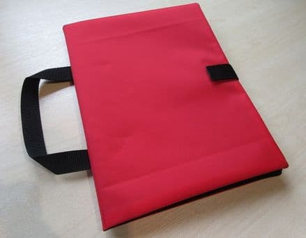 A4+ Communication Book: Fabric Pages SOFT COVERS