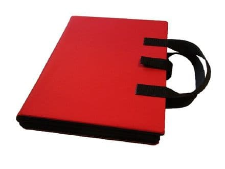 A4 Communication Book - Rigid Covers - Red