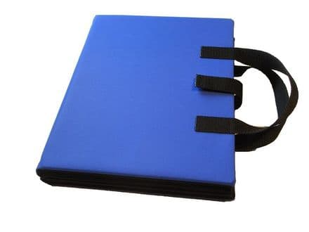 A4 Communication Book - Rigid Covers - Royal Blue
