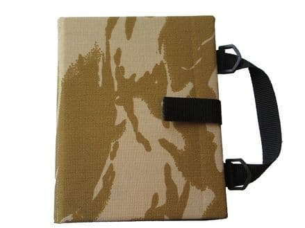 Communication Book A5 - Rigid Covers - Desert Camouflage