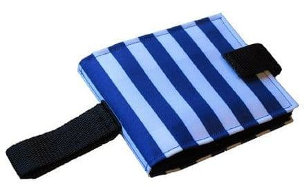Portable Communication Book - Blue Stripes