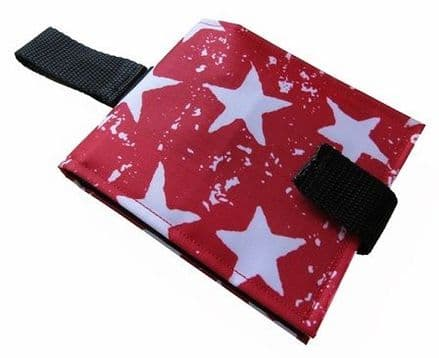 Portable Communication Book - Red Stars
