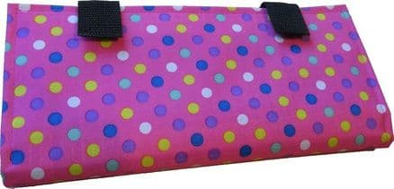 Portable Waist Communicator - Pink Spots