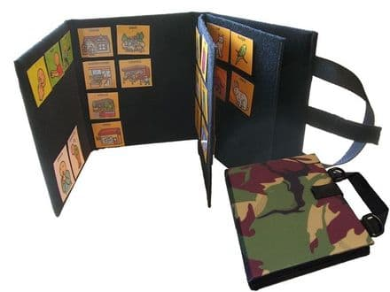 A5 Communication Book - Core & Fringe Vocabulary - Jungle Camouflage