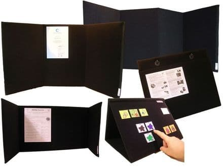 AbilityBoards 5 Boards 'Budget Busting Bundle' - Portable Display Boards
