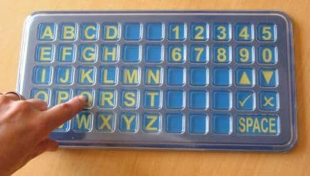 Frenchay Alphabet Board - Matrix - Tabletop size