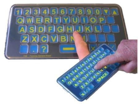 Frenchay Alphabet Board - QWERTY - Pocket & Tabletop Size