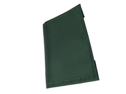Pocket Communication Book - Clear Pocket Pages - Bottle Green