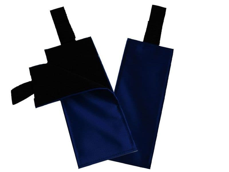 Portable Fabric Activity Schedule - Navy Blue