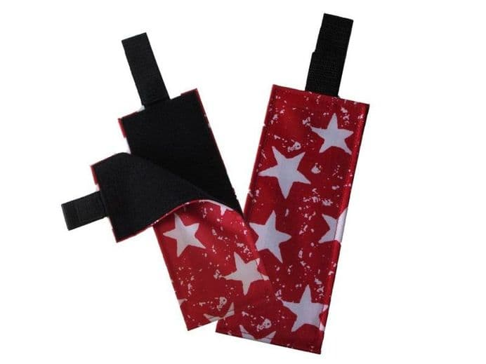 Portable Fabric Activity Schedule - Red Stars