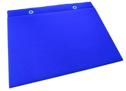 Two-sided Portable Choice / Display Board - Wall-mountable - Blue - 60 x 40cm (Approx. A2)