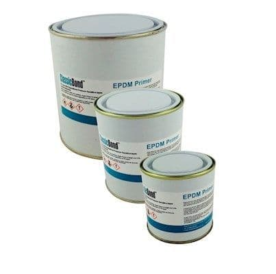 EPDM Rubber Primer used to bond One Piece corner patches & tapes