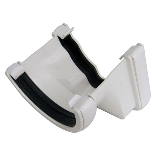 Right Hand Adapter to Half Round Gutter