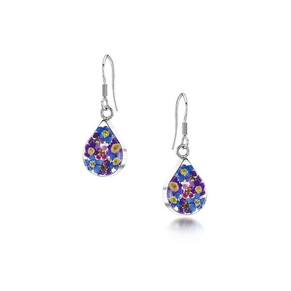 Purple Haze  Drop Earrings