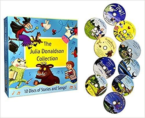 The Julia Donaldson CD Collection of Stories and Songs