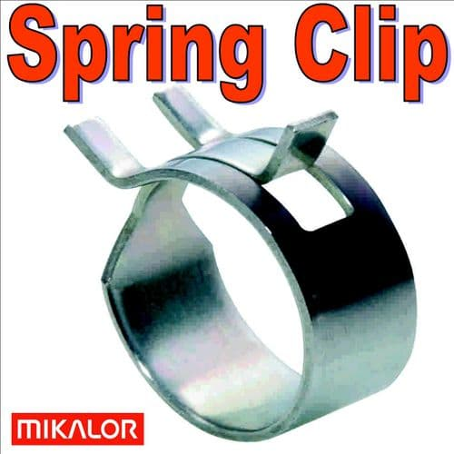 14mm Fuel Hose Spring Clip Constant Tension Mikalor Clamp