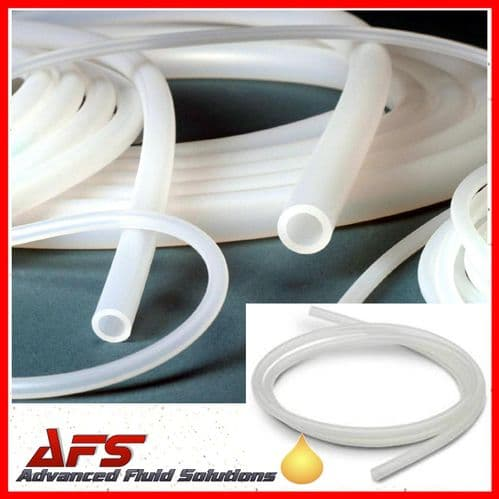 1mm I.D X 2mm O.D Clear Transulcent Silicone Hose Pipe Tubing