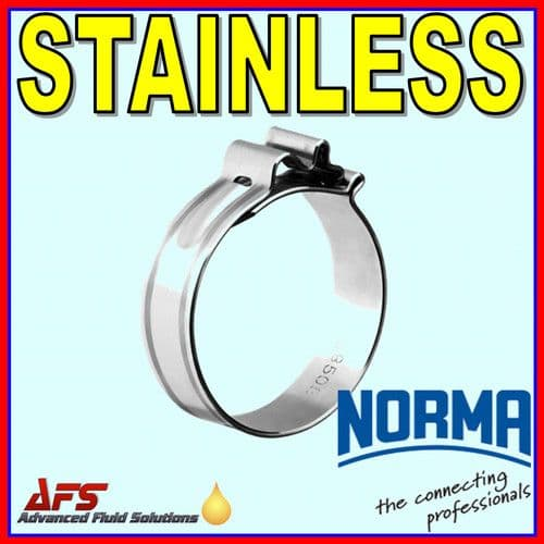 8mm Cobra W4 Stainless Steel One Piece Hose Clip