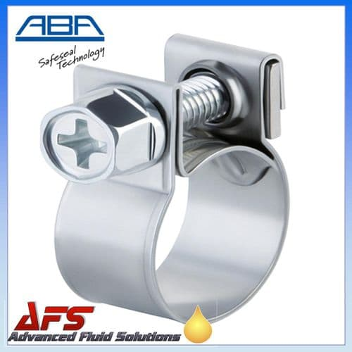 ABA Mini Stainless Steel Clip to Suit 13mm O.D Hose (1/2)
