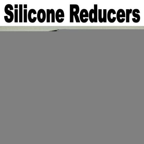 Black 57mm To 51mm Straight Silicone Reducer, Reducing Silicon Hose Pipe