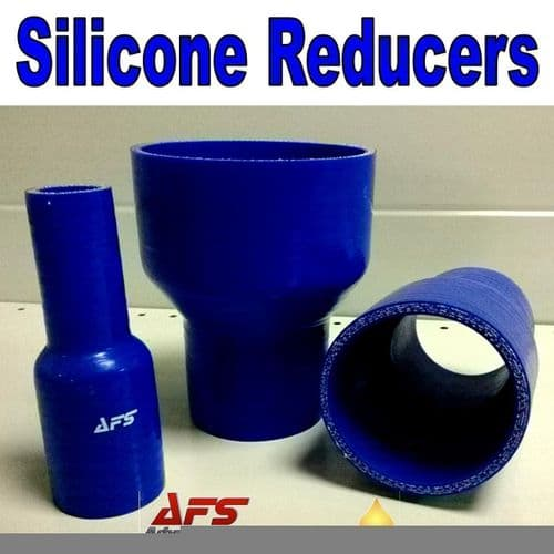 Blue 57mm To 51mm Straight Silicone Reducer, Reducing Silicon Hose Pipe