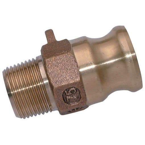 Cam & Groove Adapters & Couplings Type A, B, C, D, E, F, DC & DP (Brass)