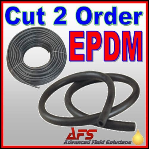 EPDM Unreinforced Rubber Tubing Hose Pipe