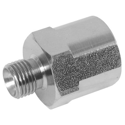Male x Fixed Female Mild Steel Hydraulic Adaptors