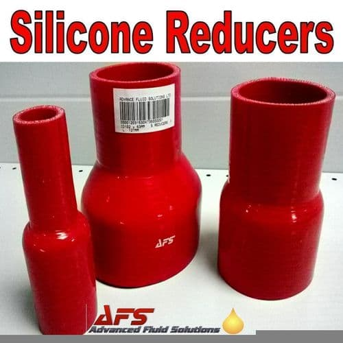 Red 38mm To 22mm Straight Silicone Reducer, Reducing Silicon Hose Pipe