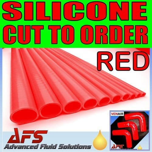 Red Straight Silicone Hose 1000mm, 500mm & 250mm
