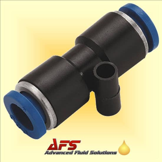 Straight Equal Push in Fittings Metric Nylon Tube Connectors