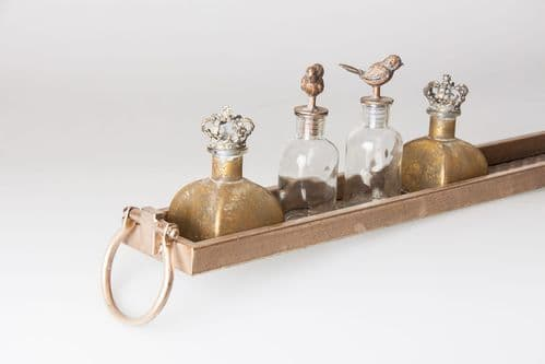 Aged Gold Serving Tray